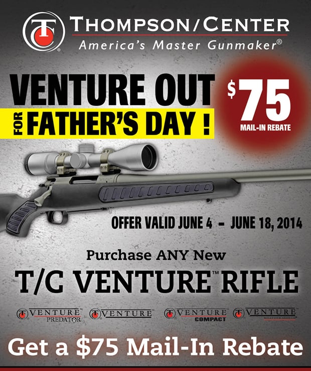 Thompson/Center Fathers Day Rebate
