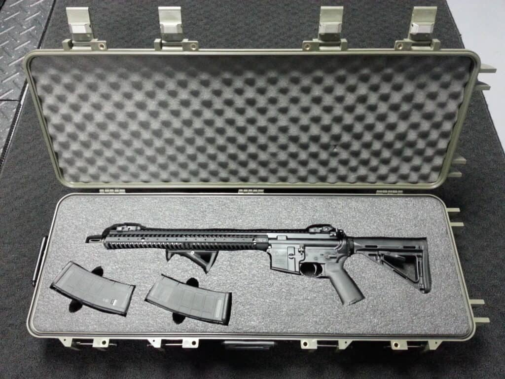 Starlight Rifle Case with Custom Foam Insert