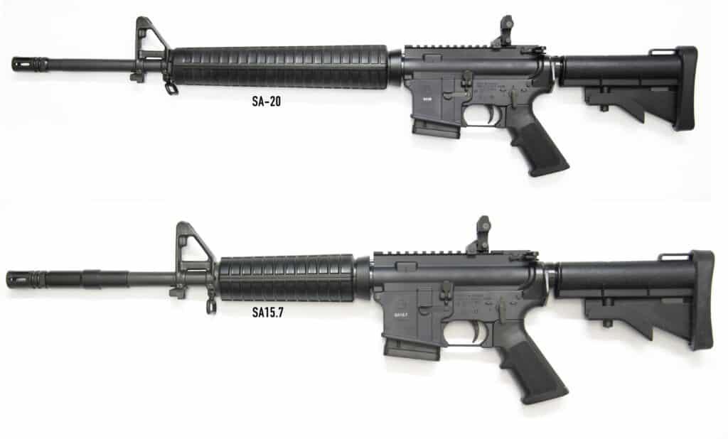 Colt Diemaco Rifles - SA-20 & SA15.7