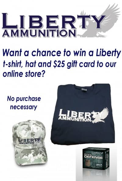 Liberty Ammunition Facebook Sweepstakes
