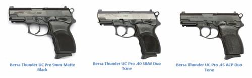 Bersa Thunder Ultra Compact Pro Pistol
