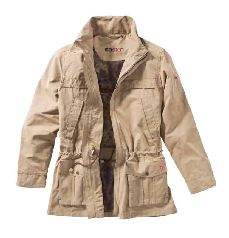 Breezy Hunting Jacket with Camouflage Net Lining