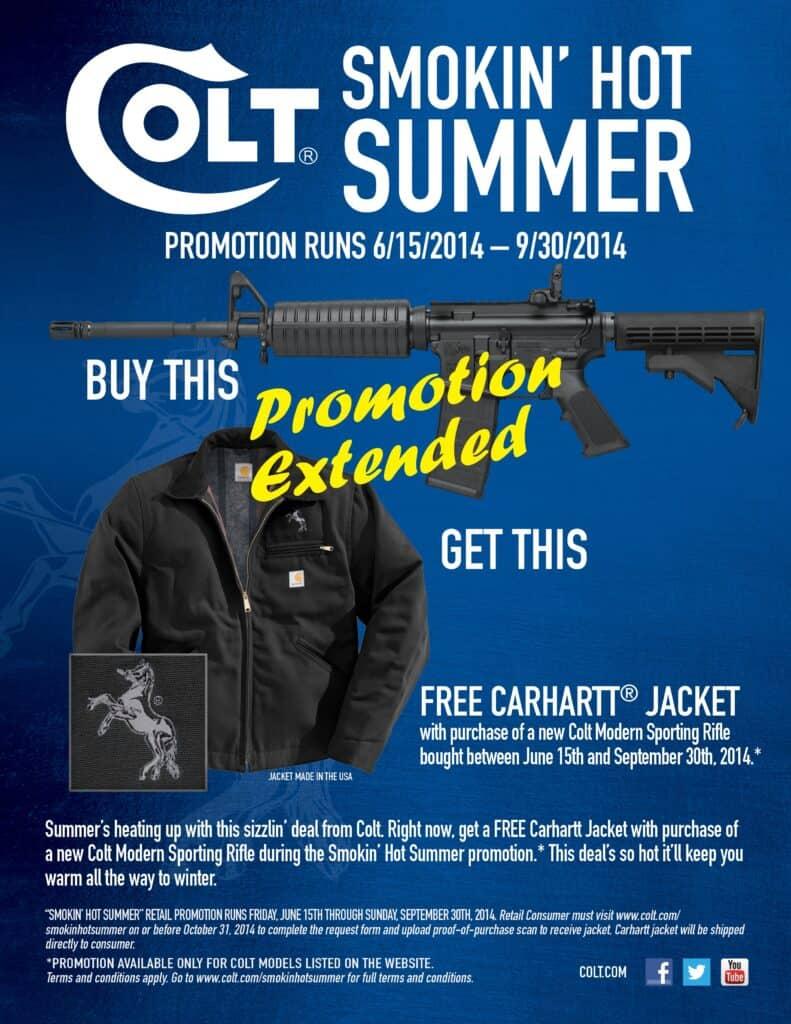 Colt Extends Carhartt Jacket Promo