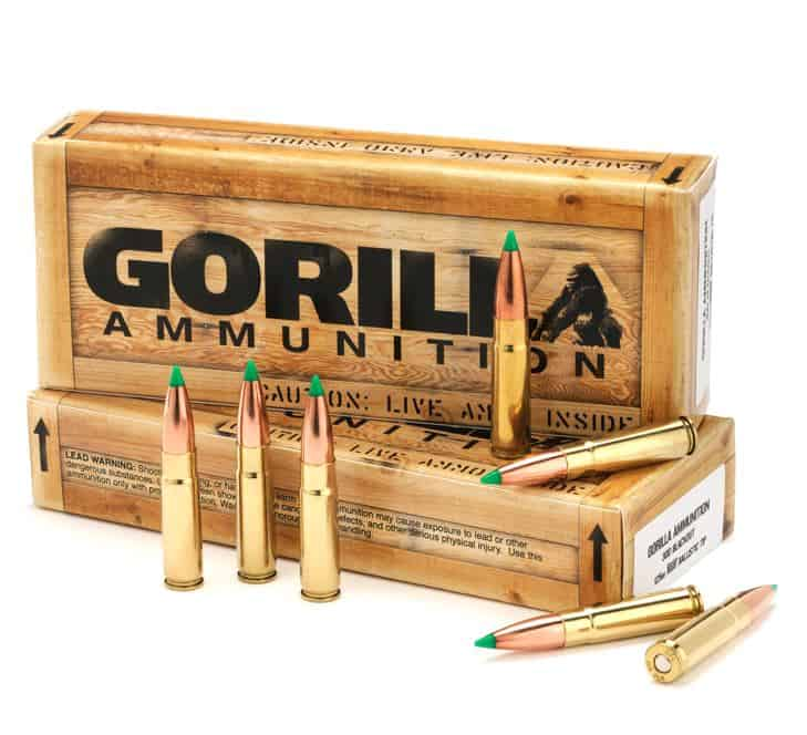 Gorilla Ammunition Remanufactured 300 Blackout Ammunition
