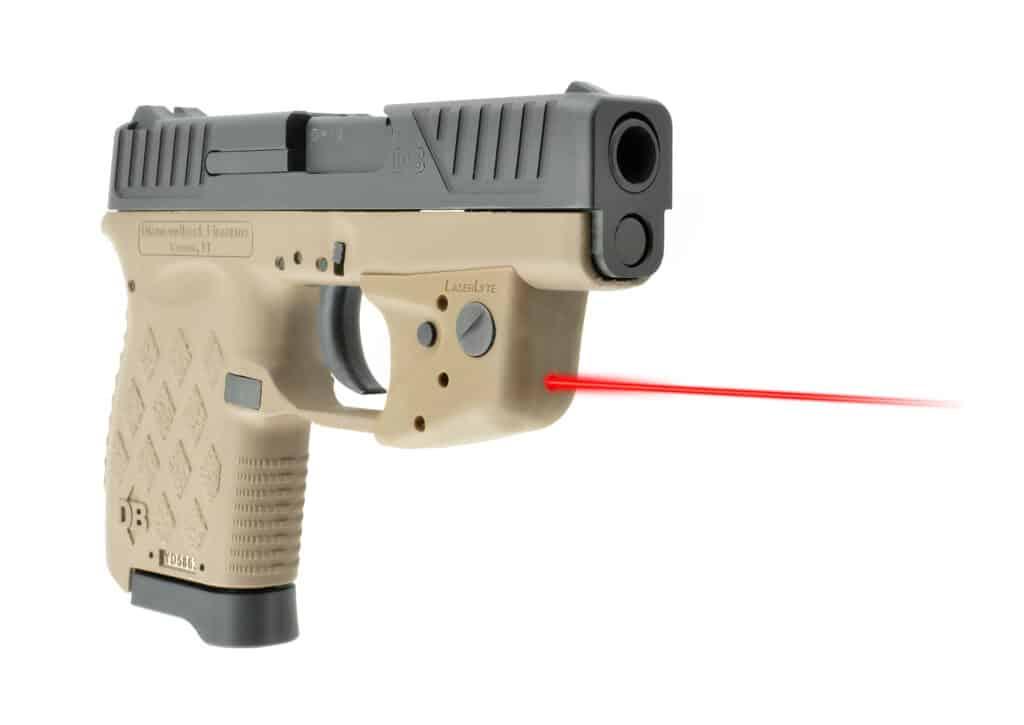 LaserLyte TGL Laser in Tan for Diamondback Pistols - UTA-DBT