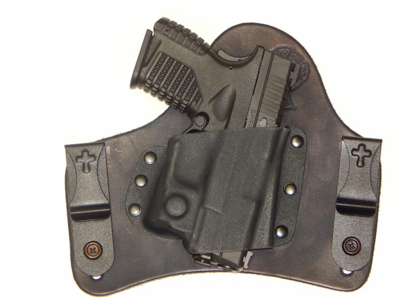 CrossBreed Holsters - Springfield XDS with Viridian Reactor Series