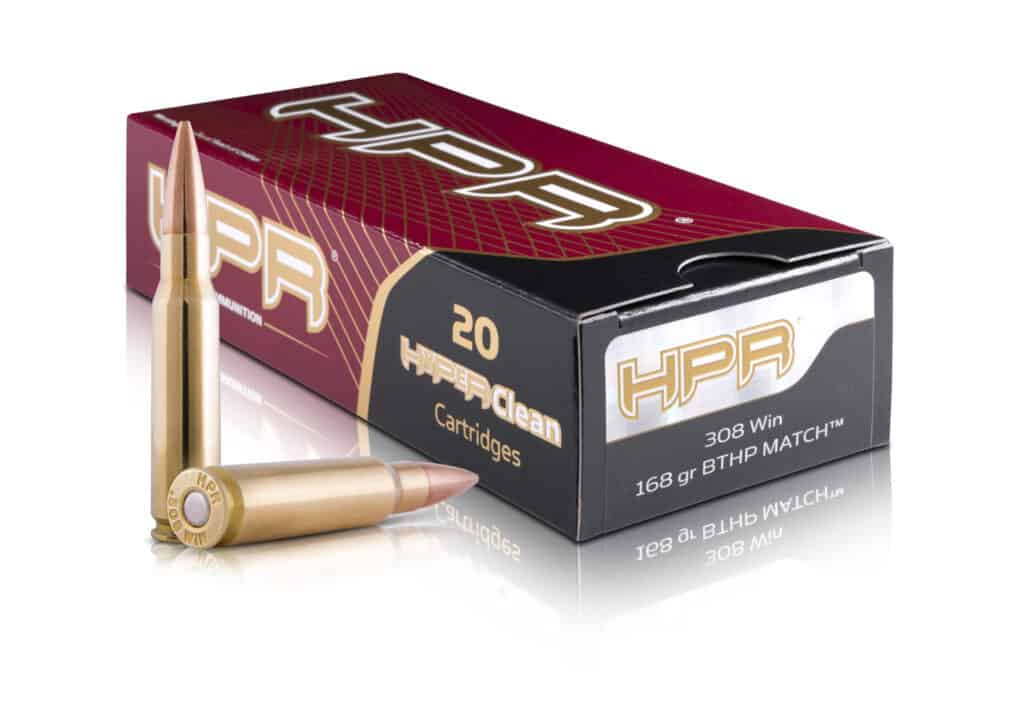 HPR 308 Win 168gr BTHP Match