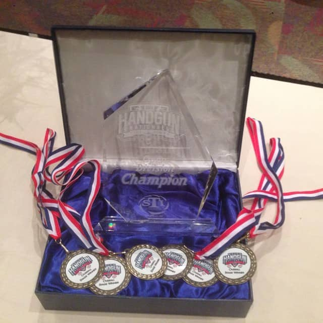 2014 STI USPSA Handgun Nationals Medals