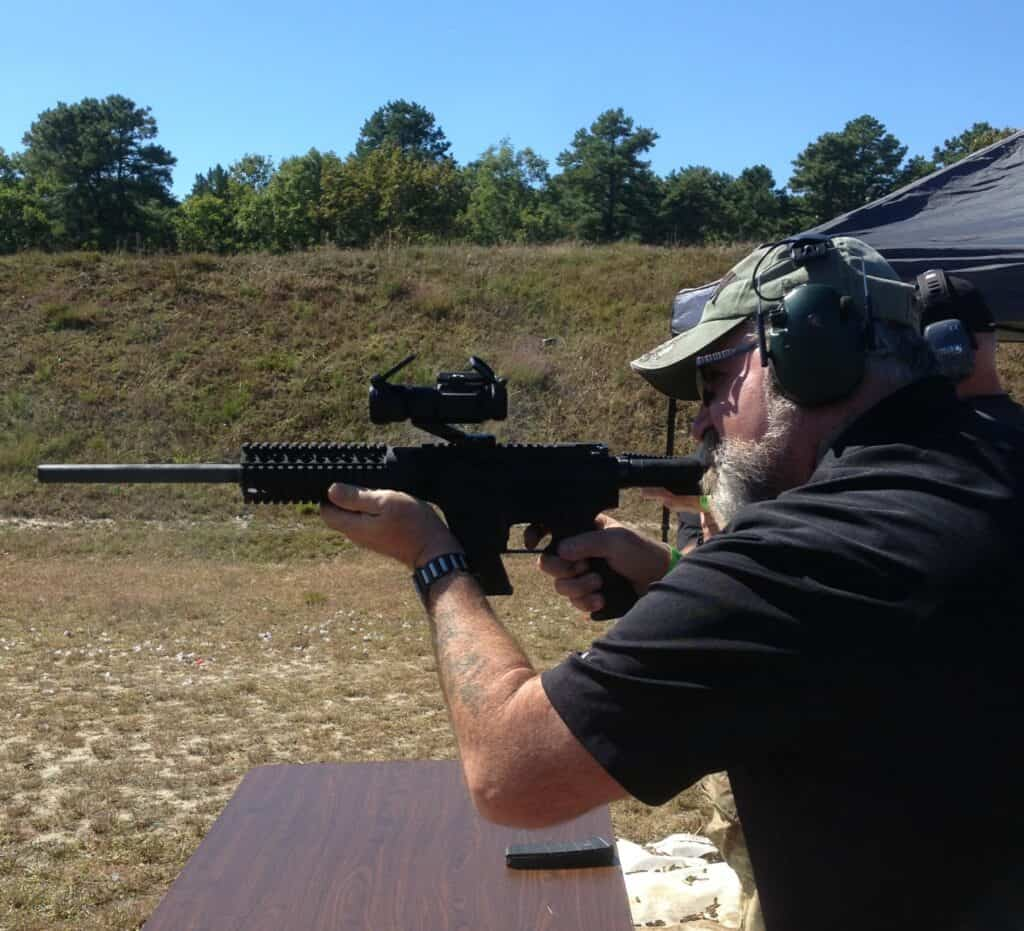 9mm MGI Hydra MARCK-15 Rifle at Range