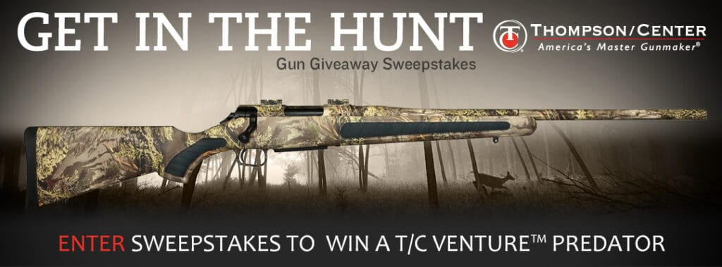 Thompson Center Arms Get in the Hunt Gun Giveaway Sweepstakes