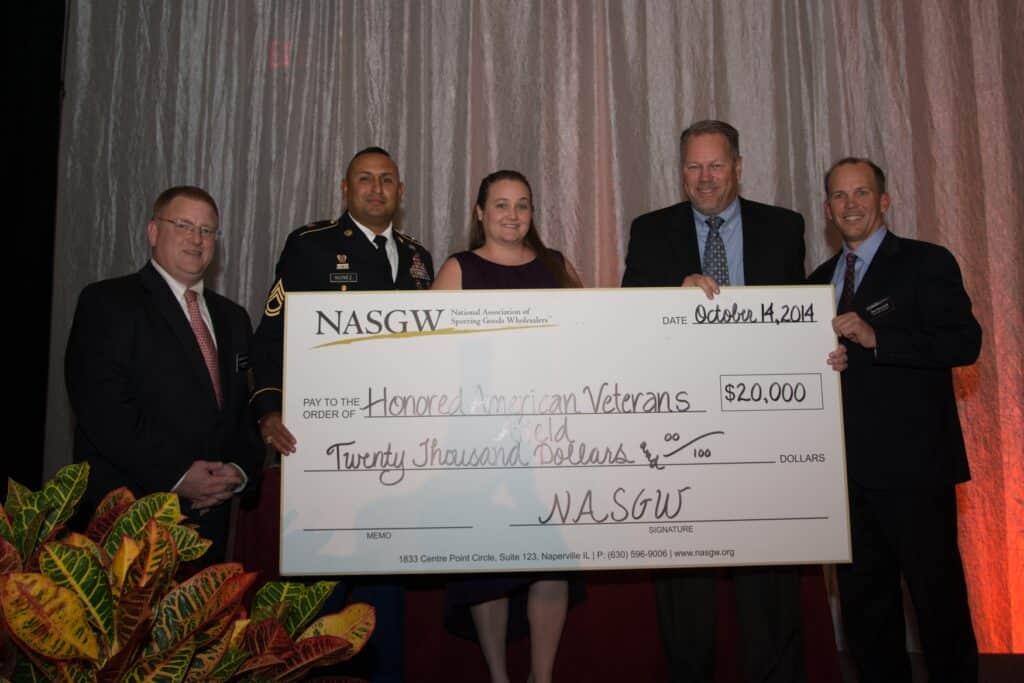 NASGW Makes HAVA Donation