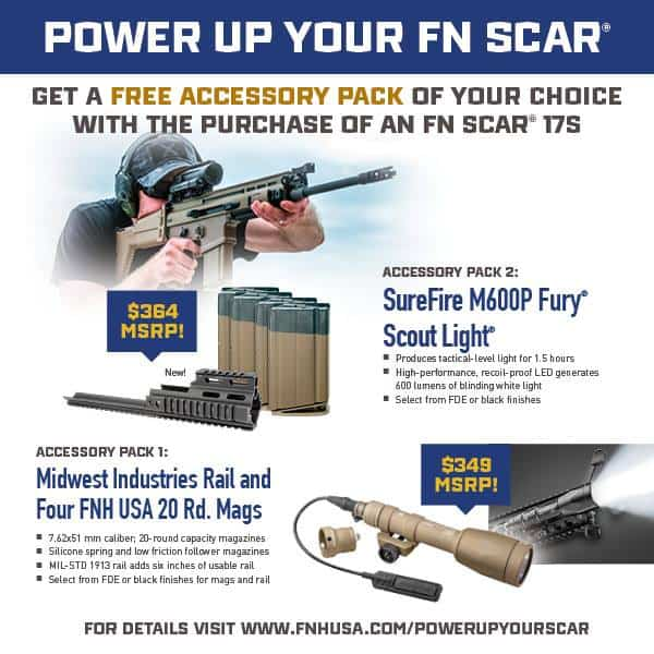 FN America Power Up Your FN SCAR Promotion