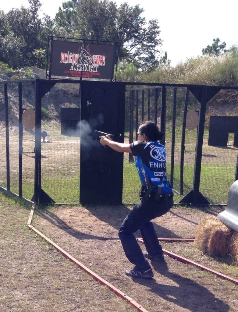 Brooke Sevigny at the IPSC World Shoot XVII