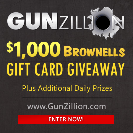 GunZillion Brownells Gift Card Giveaway