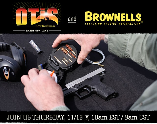 Brownells and Otis Technology Webcast