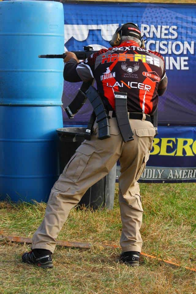 Mike Sexton at Remington Versa Max Tactical Shotgun Challenge