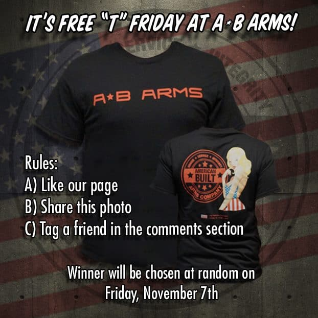 American Built Arms Free T Friday Promo