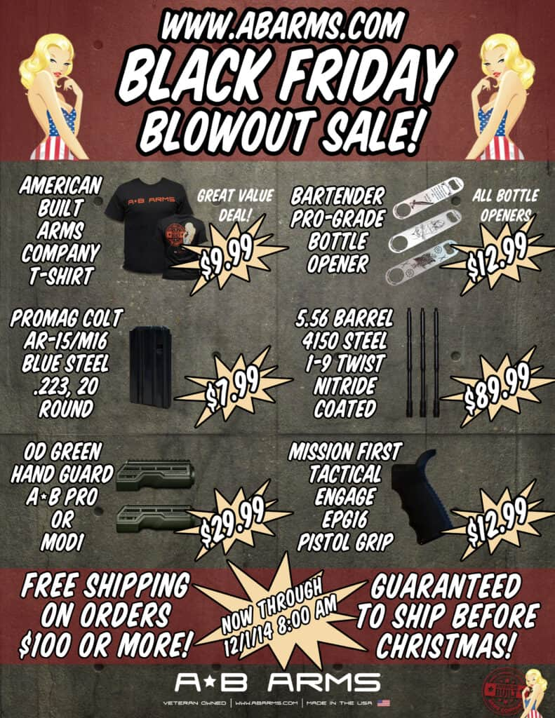 American Built Arms Black Friday Sale