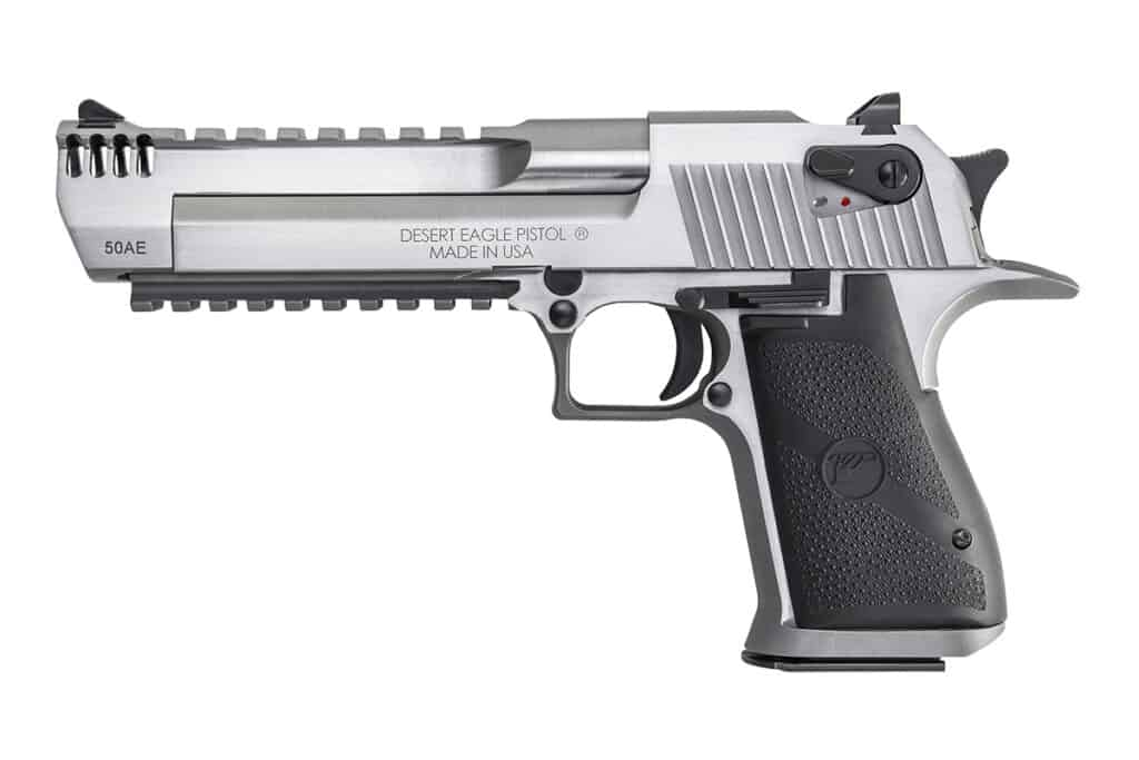Magnum Research Stainless Desert Eagle - DE50SRMB