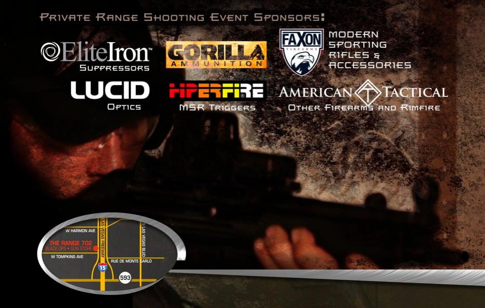 Faxon Firearms Vegas Shooting Event Invitation