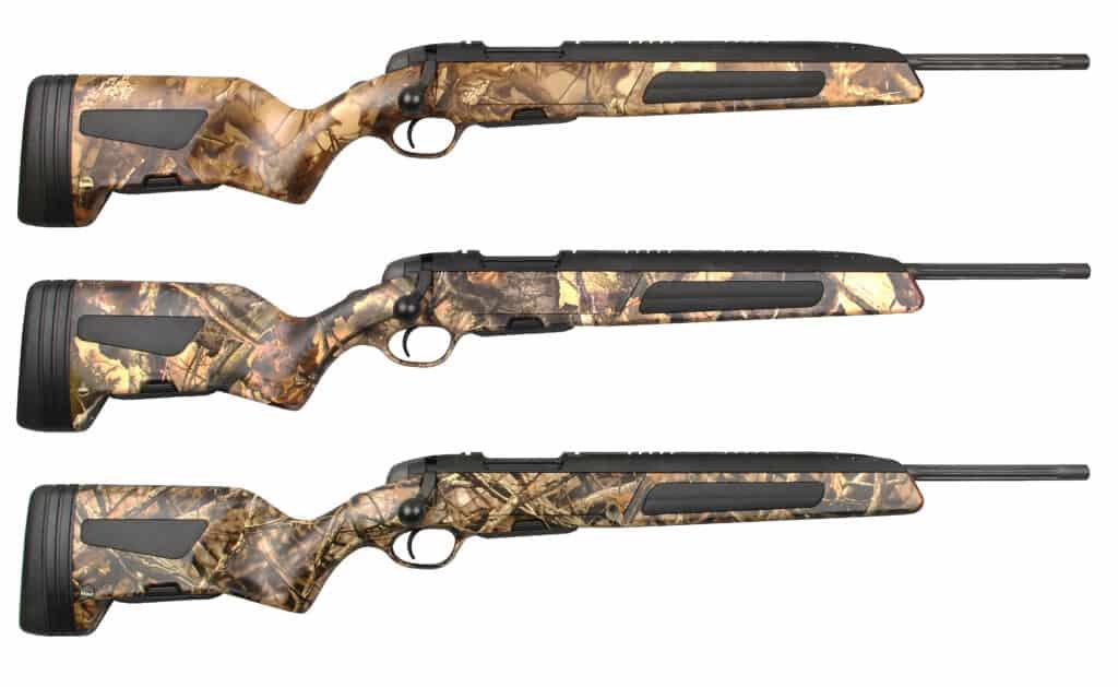 Steyr Camo Scout Rifles