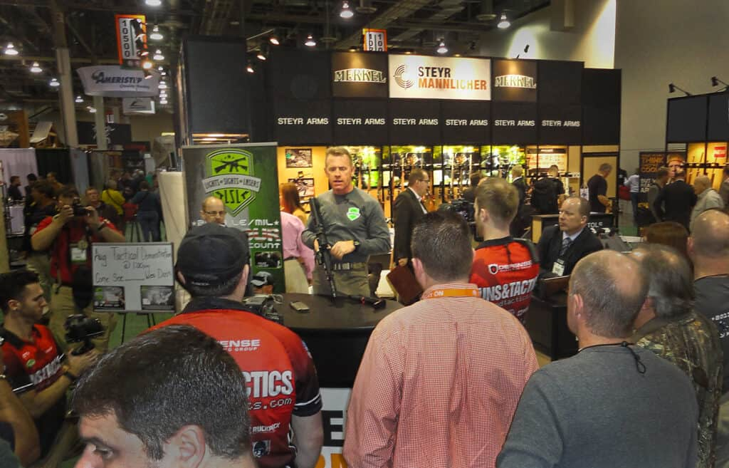 Steyr Arms SHOT Show Booth