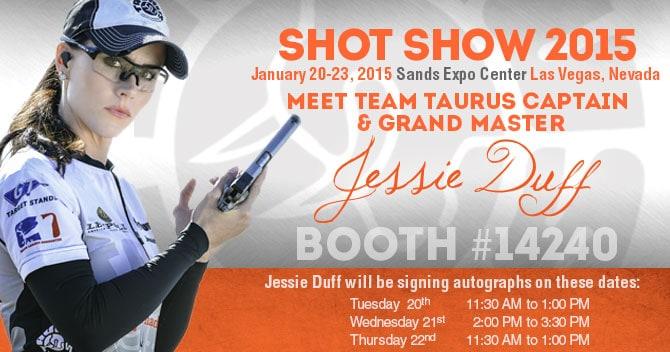 Jessie Duff SHOT Show Dates