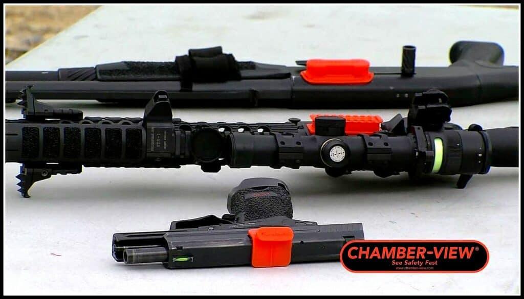 Chamber-View Pistol AR and Shotgun
