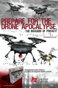Drone Munition Tactical Drone Defense Ammunition