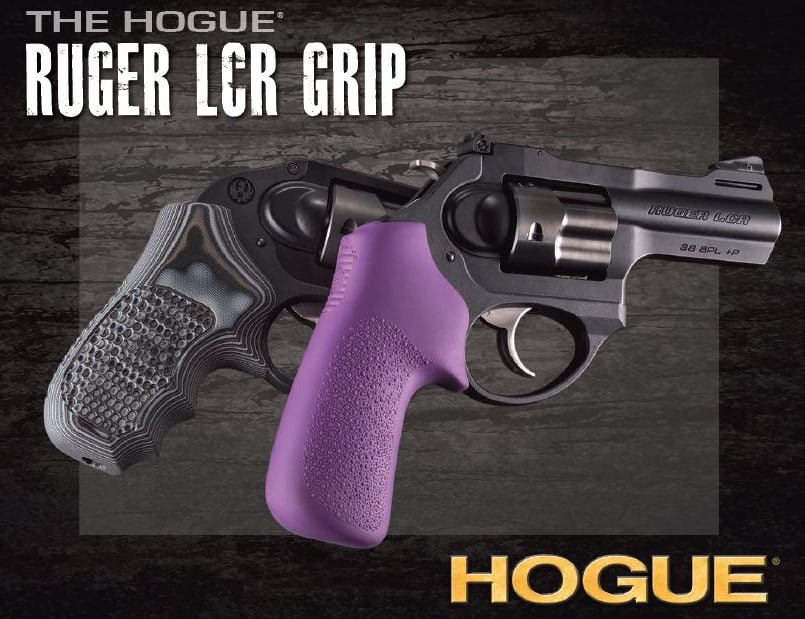 Hogue Grips for Ruger LCR Revolvers