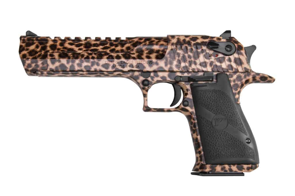 Desert Eagle Cheetah Print
