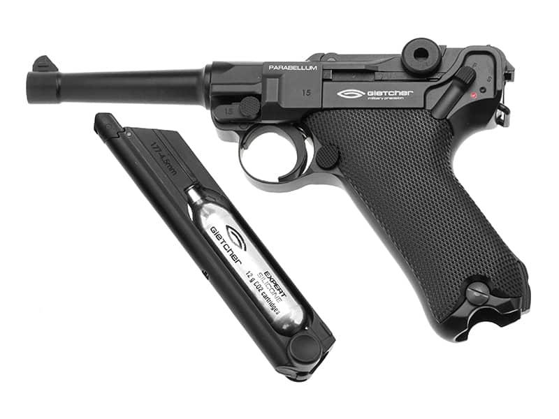 Gletcher Parabellum CO2 Pistol