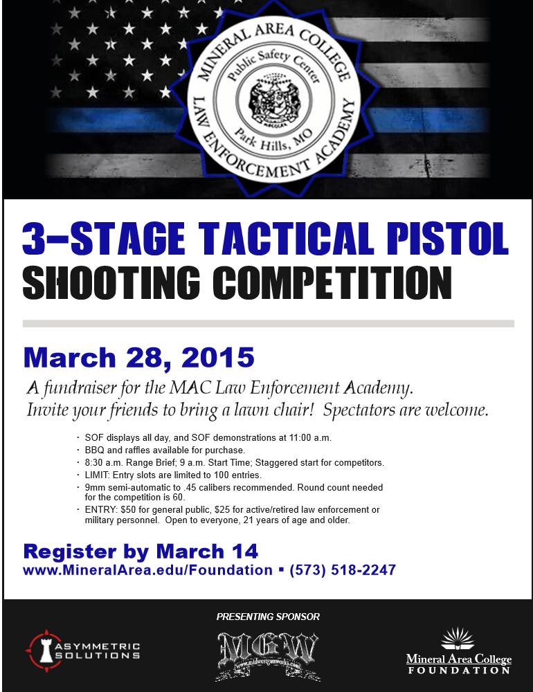 3-Stage Tactical Pistol Shooting Competition
