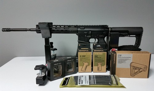VPS-15 with Magpul Accessories