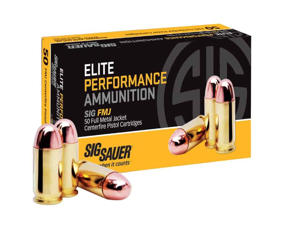 SIG FMJ Ammunition