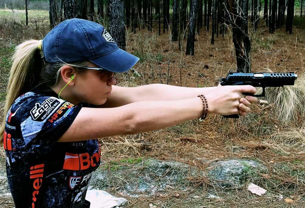 Eagle Imports Sponsors 3-Gun Shooter Heather Fitzhugh
