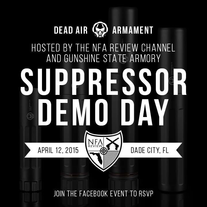 Suppressor Demo Day