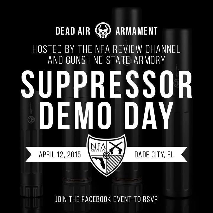 Suppressor Demo Day
