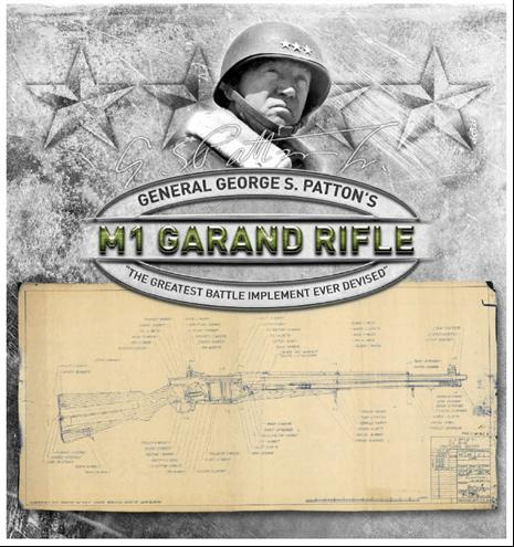 General Patton M1 Garand Rifle