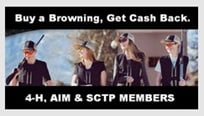 Browning Cash Back for Youth Shooting Group Members