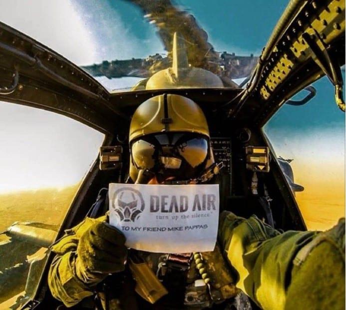 Dead Air Armament Helicopter Selfie