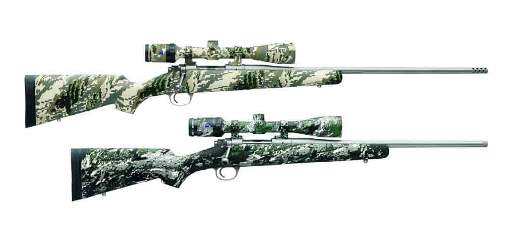 Kimber Mountain Rifles with Zeiss Conquest HD5 Rifle Scopes