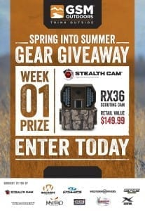 Stealth Cam RX Series Camera Giveaway