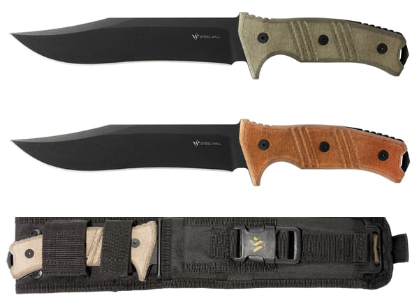 Steel Will Chieftain Knives
