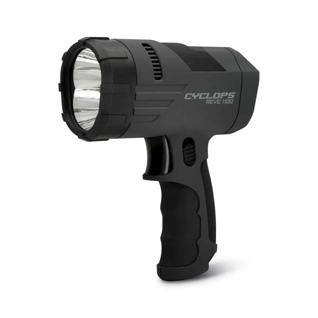 Cyclops REVO 1100 Lumen Hand Held Rechargeable Spotlight