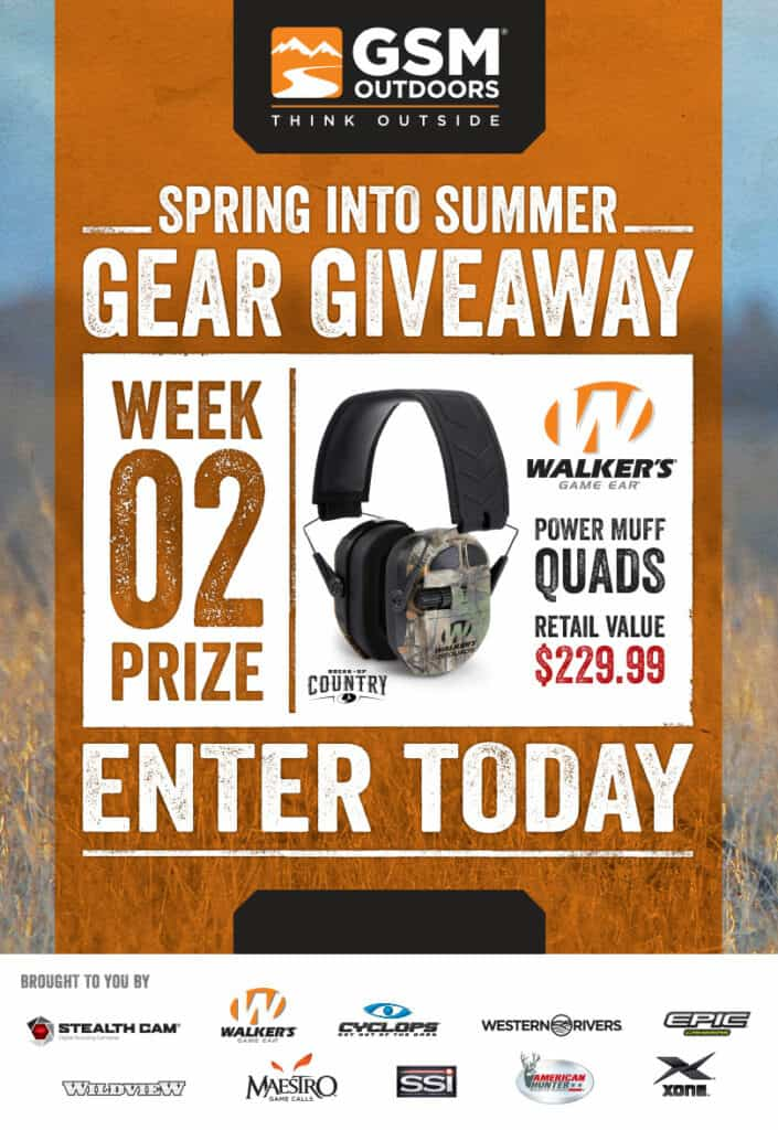 GSM Spring Into Summer Gear Giveaway Week 2