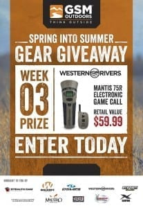 GSM Spring Into Summer Gear Giveaway Week 3