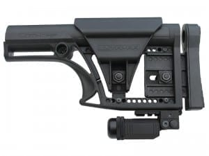 LUTH-AR Stock with AR Buttstock Rail and Ultimate Rail-Pod