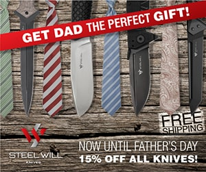 Steel Will Knives Fathers Day Special