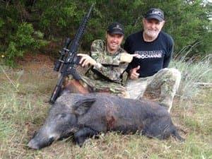 Brian Pigman Quaca and his dad Tom Dap Quaca